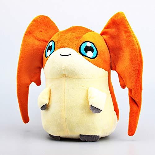 NOBRAND Peluche Juguete Anime Digimon Adventure Patamon Peluche De Peluche Juguetes para Niños Juguetes Blandos Y Regalo 11 8 Cm