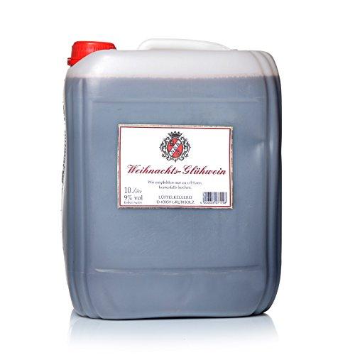 Glühwein 10 Liter - Weihnachtsgluehwein 9% Vol.