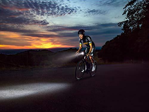 Sigma Sport LED Fahrradbeleuchtung-Set AURA 60 USB/NUGGET II, Frontlicht und Rücklicht, StVZO Zulassung, Akku wiederaufladbar, wasserdicht - 7