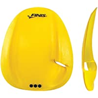 FINIS Agility Paddle Floating Medium Tubo Frontal de Natación, Unisex Adulto, Amarillo