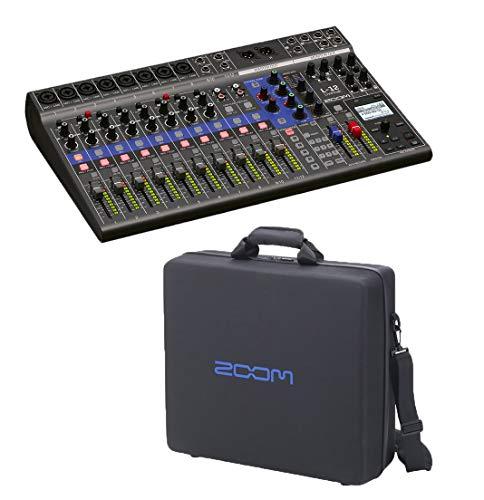 Zoom LiveTrak L-12-12-Channel Digital Mixer & Multitrack Recorder + CBL-20 Carrying Bag For L-12