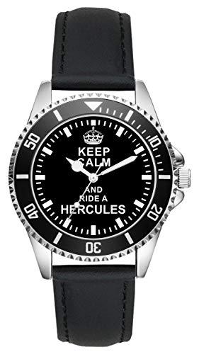Geschenk für Hercules Moped Biker Fans Fahrer Kiesenberg Uhr L-1626