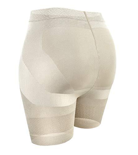 Sesto Senso Intimo Modellante Donna Pantaloncini Snellenti 1-3 Pezzi Vita Alta 4 Ecru