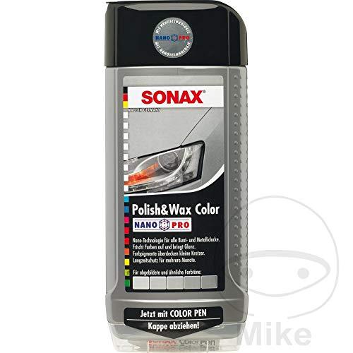 Preisvergleich Produktbild Polish & Wax Color NanoPro silber / grau 0, 5 l