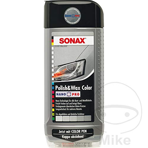 Polish & Wax Color NanoPro silber/grau 0,5 l