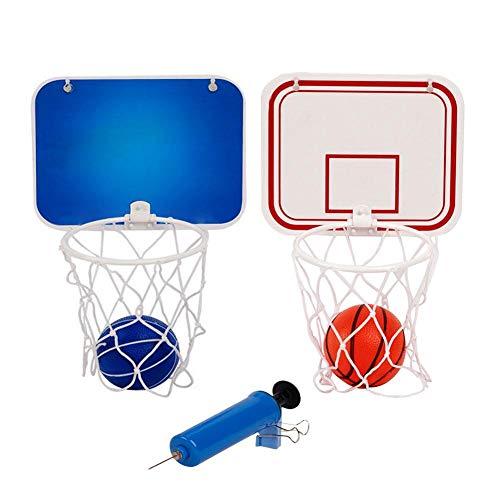 perfecti Tablero De Baloncesto Mini Exterior con Baloncesto De Goma Y Bomba Canasta Pared para Niños Chicos Adultos Canasta Baloncesto Infantil Interior