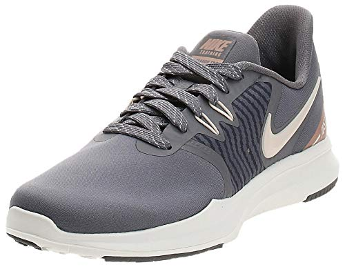 Nike Damen W Season Tr 8 Amp Fitnessschuhe, Mehrfarbig (Gunsmoke/Guava Ice/MTLC Red Bronze/Sail 000), 40.5 EU