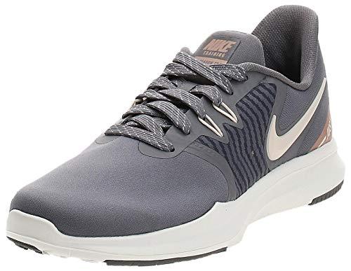 Nike W Season TR 8 Amp, Scarpe da fitness Donna, Multicolore (Gunsmoke/Guava Ice/Mtlc Red Bronze/Sail 000), 36.5 EU