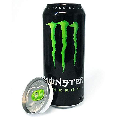 Monster Energy, Monster Green, Energiedrankje met bruis, 500 ml, 6-pack