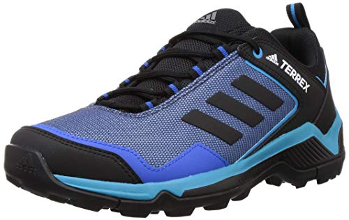 adidas Terrex Eastrail, Chaussure de Piste d'athlétisme Homme, Bleu Gloire/Noir Noir/Cyan De Choc, 43 1/3 EU