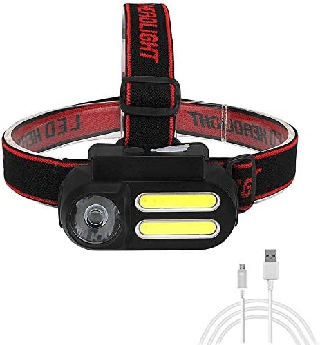 HUIZHANG Headlamp Japan's largest Recommendation assortment Outdoor Camping LED COB Portable Mini