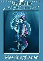 Mystische Meerjungfrauen (Wandkalender 2022 DIN A4 hoch): Meerjungfrauen in der Mythologie begeistern von Kindesbeinen an. (Monatskalender, 14 Seiten )