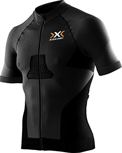 X-Bionic Biking Man Race Evo Ow SH_SL. T-Shirt Homme, Noir (Noir/Noir), s