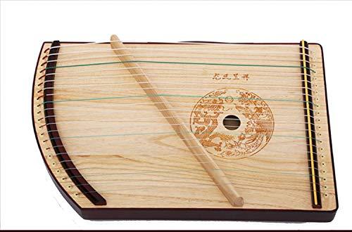 N /A Guzheng, Größe: 52 × 33 × 6 cm, 21 Streicher, Guzheng Finger Trainer mit Zubehör, Protable, Geeignet for Anfänger, Erwachsene, Kinder
