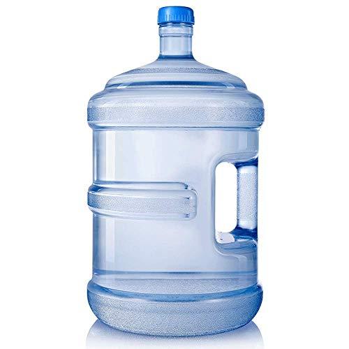 3L / 5L / 7.5L / 11.3L / 15L / 18.9L Cubo De Plástico De Agua Pura-Botella De Agua Pura Botella De Agua Mineral Cubo Portátil Con Manija, Recorrido Autónomo Con Agua Corriente Cubo De Agua Mineral