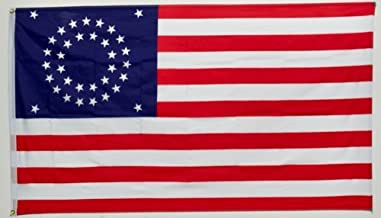 ALBATROS 3 ft x 5 ft USA Union Civil War Circular Flag 35 Star Circle American Flag for Home and Parades, Official Party, All Weather Indoors Outdoors