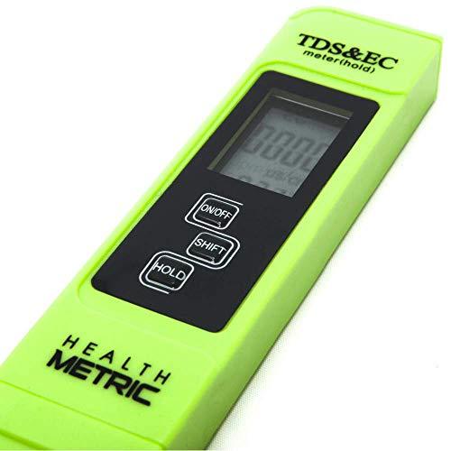 Digital Blue EC-1 Water Quality Test Pen Meter TDS+EC Temperature 0-9990 pp ASS