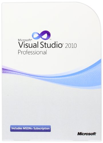 Microsoft Visual Studio Pro with MSDN Retail 2010 - 1 User [import anglais]