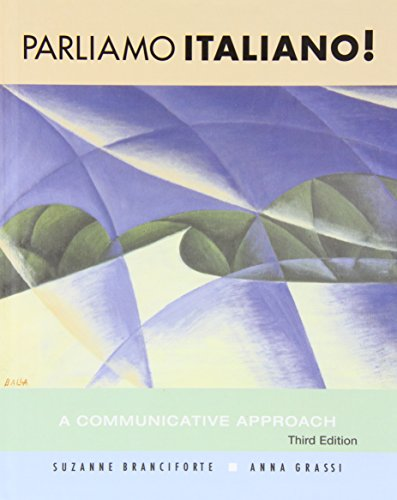 Parliamo italiano!, with Audio CD + Workbook and Lab Manual (Kit): A Communicative Approach