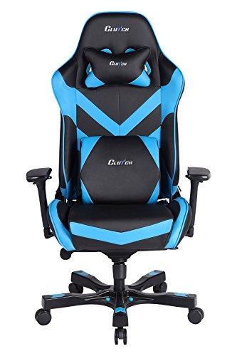 CLUTCH CHAIRZ Throttle Series Charlie Premium Gaming Chair (Blue)