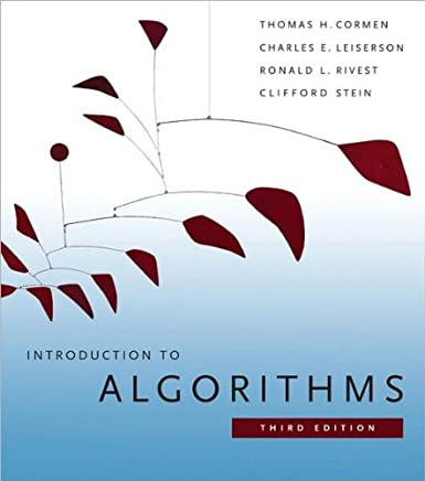 Introduction to Algorithms. Third Edition (text only) 3rd (Third) edition by T.H.Cormen.C.E.Leiserson.R.L.Rivest