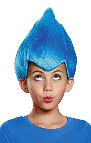 Blue Wacky Child Wig, One Size Child