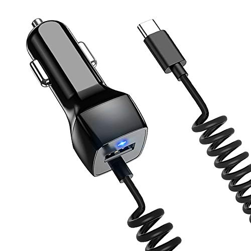 USB C Car Charger Compatible Samsung Galaxy S10 S10+ S10e S21 S20 S9 S8 S9+ S8 Plus Note 10 Plus/10/8/9 Car Charger, Google Pixel XL/2/2 XL/3/3 XL/3a Type C Car Charger
