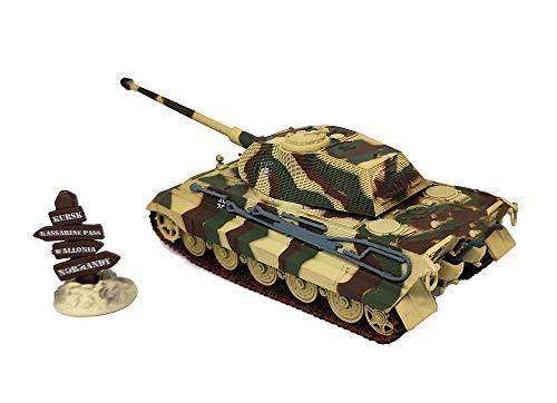 KAIGE Militares 1/72 plástica del Modelo del Tanque, la Segunda Guerra Mundial Alemania Rey Tigre Tanque Pesado Modelo Acabado, coleccionables WKY