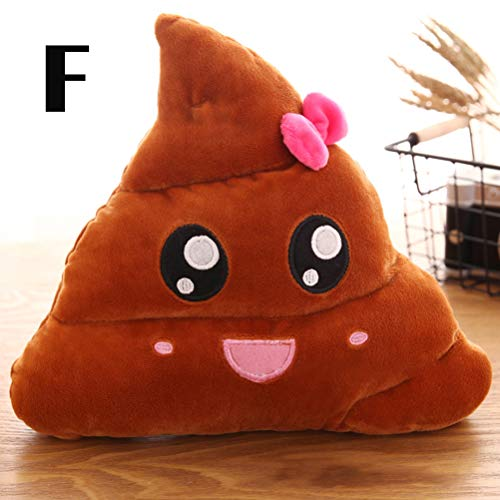 AimdonR Kreative Nette Poop Plüschtier Kissen Kissen Home Bed Sofa Car Decor
