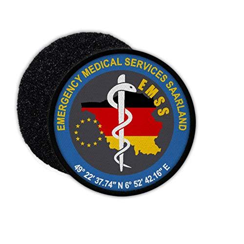 Copytec EMSS Rettungsdienst Saarland Sanitäter Notarzt Rettungsassistent Uniform #32763