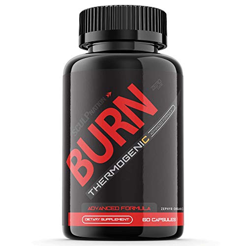 Burn Sculpnation Supplement Test Boost Pills Extra Strength Pre Workout Booster PM (60 Capsules)