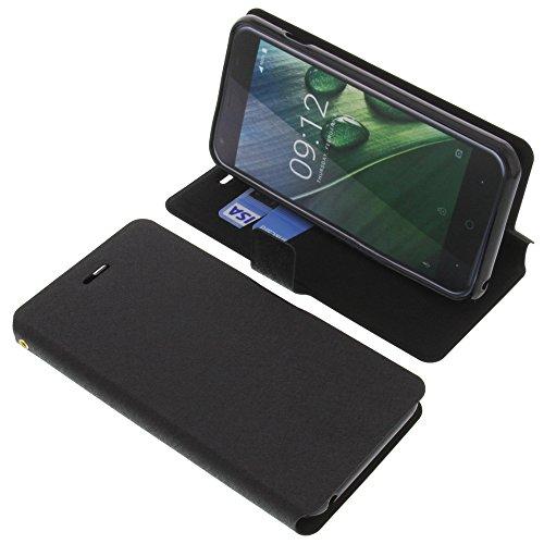 foto-kontor Tasche für Acer Liquid Z6 Book Style schwarz Schutz Hülle Buch