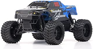 Exceed-RC 1/16 2.4Ghz ThunderFire Nitro Gas Powered RTR Off Road Truck Sava BlueSTARTER KIT Required and Sold Separately
