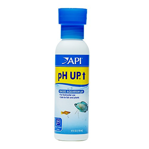 API pH UP Freshwater Aquarium Water pH Raising Solution 4-Ounce Bottle