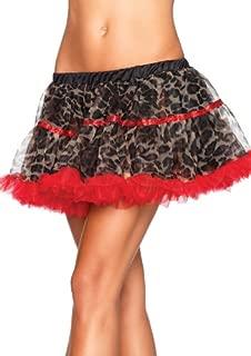 leopard print tutu skirt