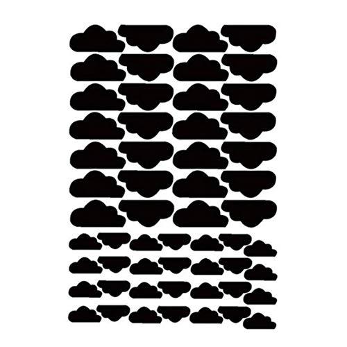 Creative-Clouds Wandtattoo entfernbares Abziehbild-Wandaufkleber Hauptdekoration Schöne Wandaufkleber 25 * 20cm