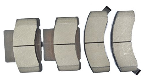 Dash 4 CD459 Premium Brake Pad, Ceramic
