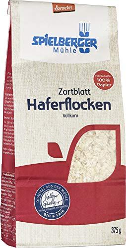 Spielberger Bio Haferflocken Zartblatt, demeter (6 x 375 gr)
