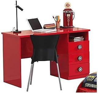 Vipack Monza Bureau Rouge, MDF