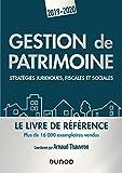 Gestion de patrimoine - 2019-2020 - Stratégies juridiques, fiscales et sociales - Stratégies juridiques, fiscales et sociales (2019-2020)