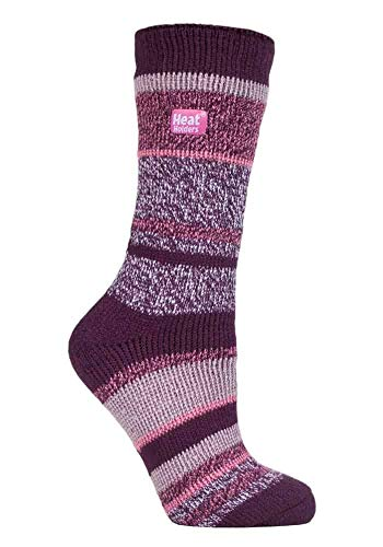 HEAT HOLDERS - Damen Warme Streifen Winter Thermosocken Socken Bunte Muster 37-42 eur (Cosby)