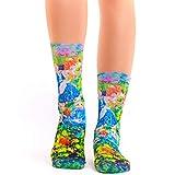 Wigglesteps Lady Socks CLAUDE MONET MADAME
