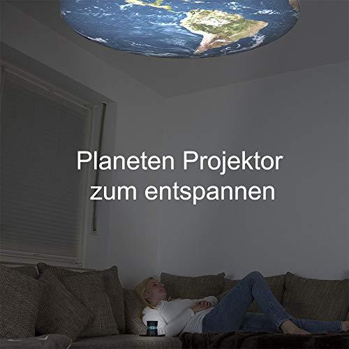DreamMe ORBIT Einschlafhilfe Licht Metronom – schneller einschlafen – Handy wird zum Smartphone Projektor - 8