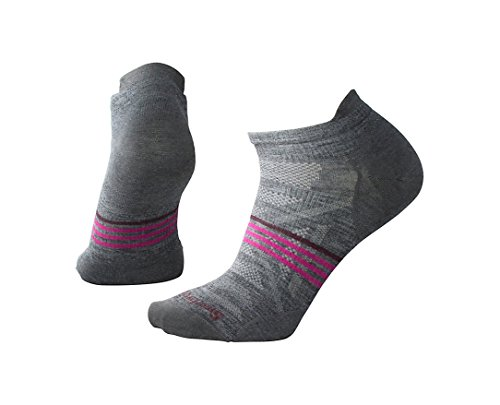 SmartWool Women's PhD Outdoor Ultra Light Micro Socks (Medium Gray) Medium