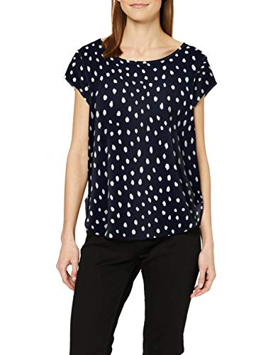 ONLY NOS Damen Onlvic Ss Aop Top Noos Wvn Bluse, Mehrfarbig (Night Sky Aop: Irregular Dot), 42