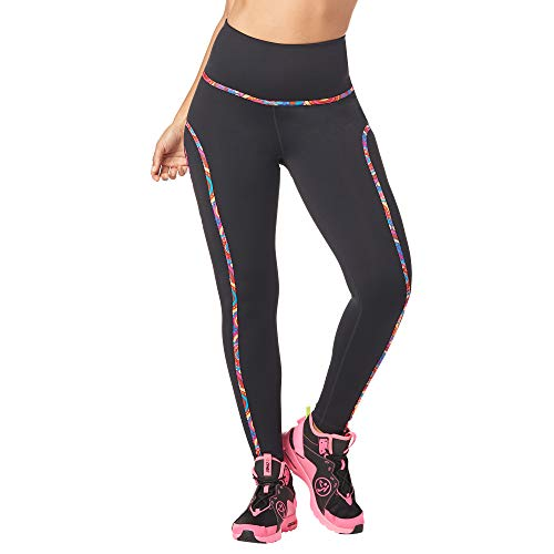 Zumba Dance Butt Lift Workout Pants Athletic Fitness Piped Leggings for Women