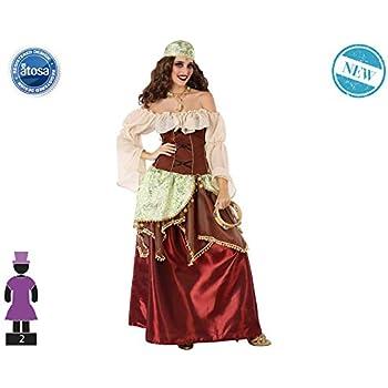 LLOPIS - Disfraz Adulto zíngara: Amazon.es: Juguetes y juegos