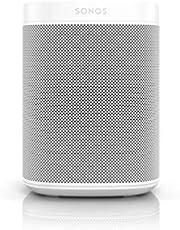 Sonos One SL All-In-One Smart Speaker (krachtige WLAN-luidspreker met app-besturing en AirPlay 2 – Multiroom Speaker voor onbeperkt muziekstreaming) zonder spraakbesturing, wit