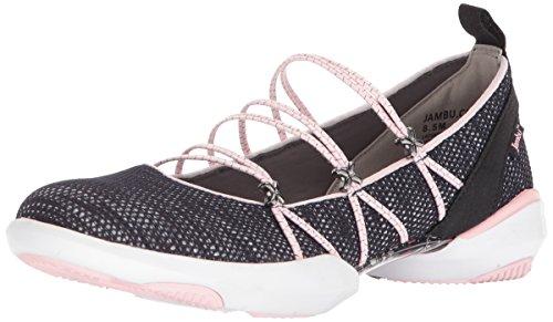 """JBU by Jambu /""""KEEGAN/""""  Bungee Lace Shoes TAN//ROSE"""
