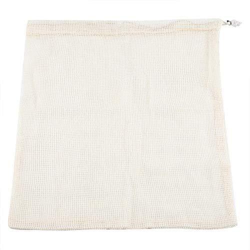 Aoutecen Mano de Obra estándar del Bolso de Compras multigrano del algodón para el hogar para al Aire Libre(30 * 45cm)